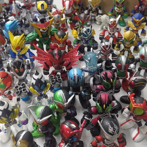 The Kamen Rider (Preowned set)